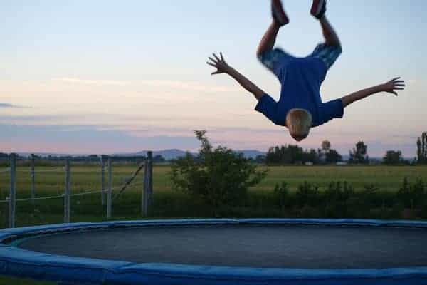 trampoline excercises